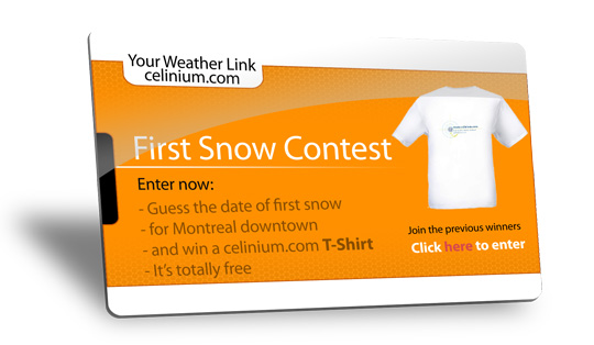 2014 First Snow Contest